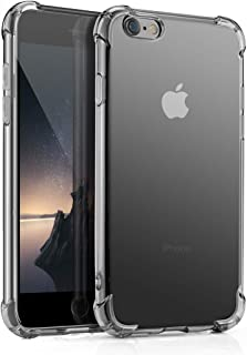 Aitour iPhone 6 Plus Cases, iPhone 6s Plus Case Clear, Slim Fit Premium Hybrid Shock Absorbing & Scratch Resistant Soft Silicone TPU-Crystal Clear Protection Case for iPhone 6s Plus/iPhone 6 Plus,B