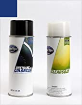 ColorRite Aerosol Automotive Touch-up Paint for BMW 3 - Avus Blue Pearl Clearcoat 276 - Color+Clearcoat Package