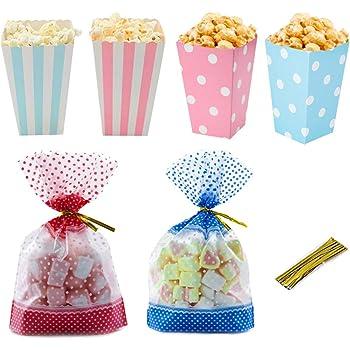 12Pcs Mini Bouteille Bébé Bonbons Sac Cadeau Papier Dessert Sacs Baby Shower Party Favor