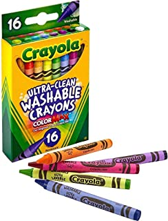 16 ct. Ultra-Clean Washable Crayons - Regular Size