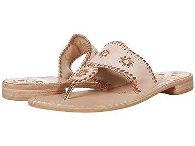 Jack Rogers Jacks Patent Leather Flat Sandal