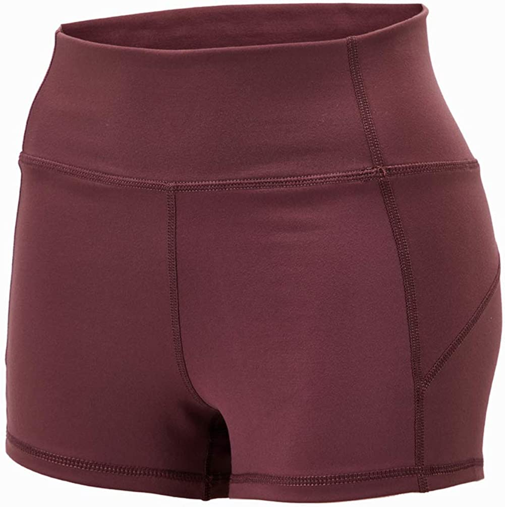 MANTORS Women's A surprise price is realized Workout Training Yoga Shorts Rapid rise Waist Stretch High