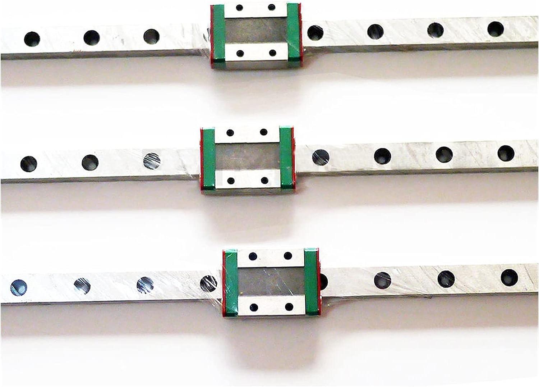 JINLI-CASE Rennen 3pcs cheap Mini MGN7 7mm Dedication Miniature Linear L70mm Rail