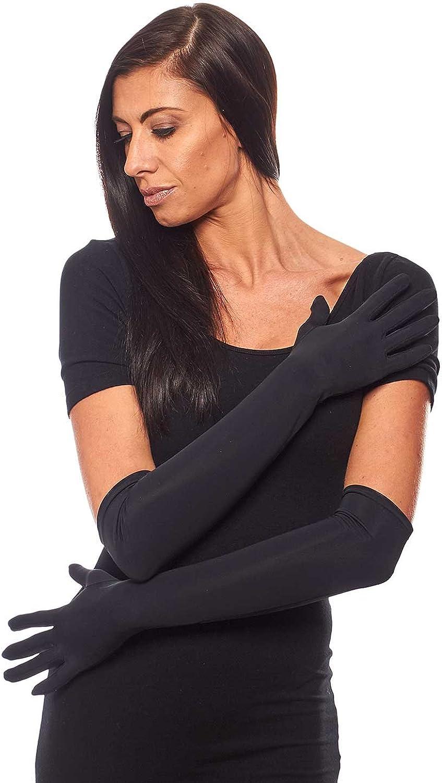 Astoria Extra Matte Spandex Elbow Length Gloves