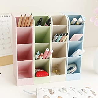 Desk Pen Pencil Organizers for Office Supply Makeup Stationery Marker Pen Pencil Brush Craft Storage Container Holder Tray...