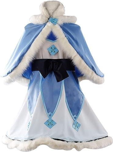 MingoTor OW Overwatch Magic Girl MEI Outfit Cosplay Kostüm Damen S