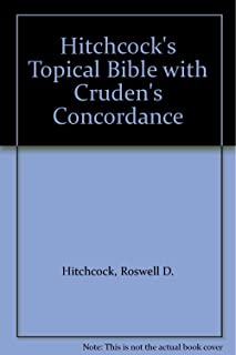 Hitchcock's Topical Bible with Cruden's Concordance