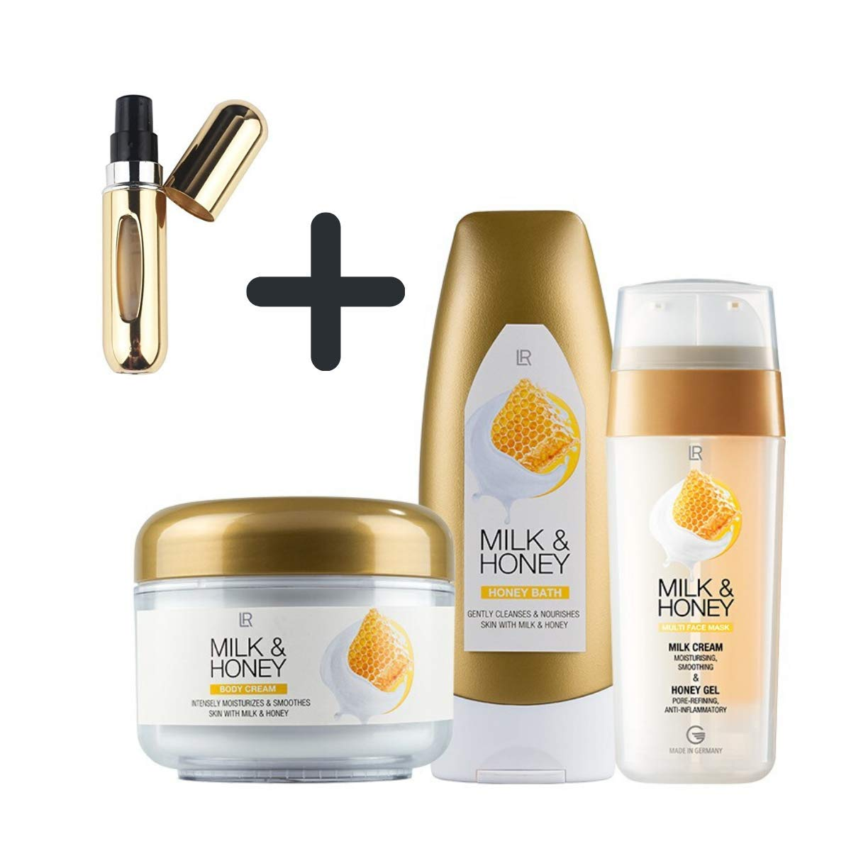 LR Milk & Honey Set limitiert  Amazon.de Beauty