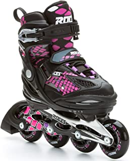 Roces Kid's Girls Moody Fitness Inline Skates Blades Color Choices 400778