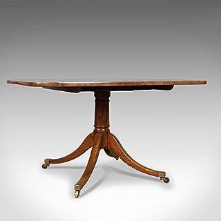 Antique Table de petit déjeuner, Anglais, Regency, Acajou, Tilt-top salle à manger, Circa 1820