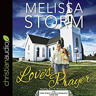Love's Prayer                   By:                                                                                                                                 Melissa Storm                               Narrated by:                                                                                                                                 Ann Richardson                      Length: 5 hrs and 16 mins     Not rated yet     Overall 0.0