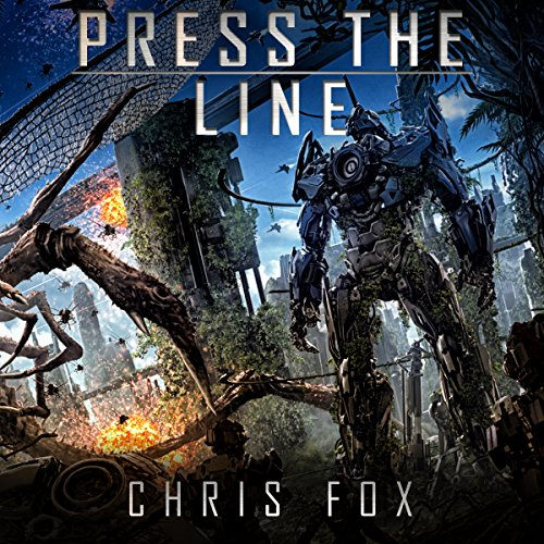 Press the Line audiobook cover art