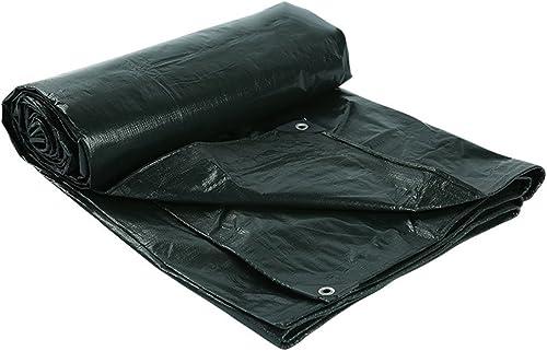 Bache de prougeection pratique tente extérieure bache épaisse logistique imperméable à l'eau de construction logistique de camion étanche à la pluie coupe-vent en plastique tissu résistance à la corrosi