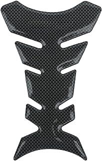 Adesivi moto Carro armato del motociclo della protezione di gas rilievo rilievo del carro armato della decalcomania della Kawasaki Ninja 250R 400 400R 250 650 300 H2 1000 Color : Black