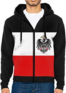 Octopus Bully Man Flag Of The German Empire Defaced Graphic Design Sports colorful Cool Pocket Long Sleeve T-Shirt With Hat