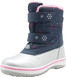 Kids Boys Girls Insulated Snow Boots Waterproof Winter...