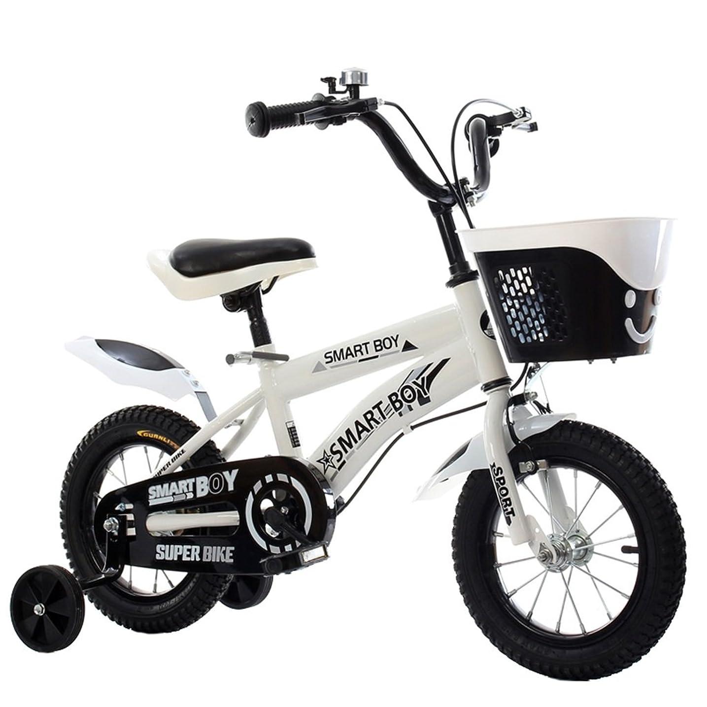 勝者似ているジョージバーナード子供の自転車アウトドアマウンテンバイク2-3-6-8ボーイズとガールズ子供用玩具調節可能ハンドルバー/トレーニングホイール付きサドル-12/14/16/18インチ