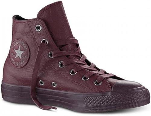 Converse All Star Hi Leather, paniers Montantes Montantes Mixte Adulte  haute qualité générale