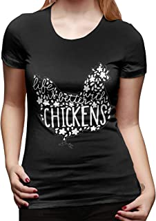 Life is Better with Chickens Women's Outdoor Sports T-Shirts
