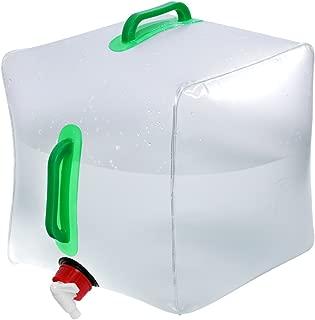 winomo Agua Bidón agua depósito de agua Bidón plegable Bolsa almacenar Depósito de agua agua portador 20L