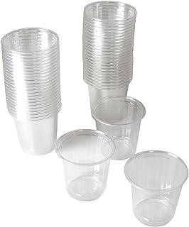 ストリックスデザイン 試飲用 プラスチックカップ 50個×60セット〔ケース販売〕 透明 60ml 使い捨てコップ ドリンク デザート試食用 業務用 ワイン 小さめ DR-515