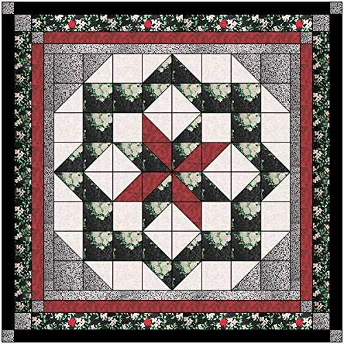 Max Courier shipping free shipping 57% OFF Quilt Kit Constellation White Black Red