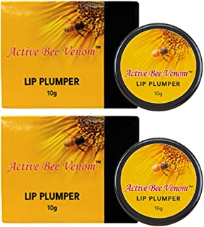 Dưỡng môi căng – New Zealand Active Bee Venom Lip Plumper – Best Lip Plumper Balm 10g x 2 Pots