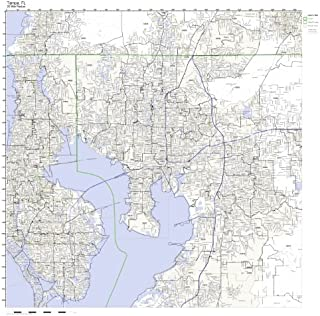 tampa zip code map
