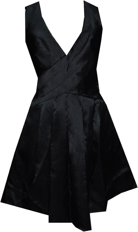Js Boutique Pleat High Waist Aline Dress Kneelength