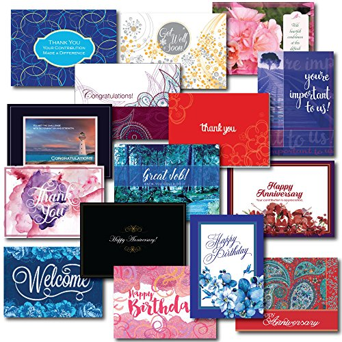 Employee Appreciation Greeting Card Assortment.