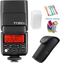Godox TT350F TTL GN36 2.4G High-Speed Sync 1/8000s Camera Master/Slave Flash Speedlite Light Compatible for Fuji Mirrorless Digital Camera(TTL autoflash)