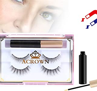 Magnetic Eyeliner and Eyelash Kit Natural Look Waterproof and Smudge Resistant No Glue Easier To Use Than Traditional Magnetic Eyelashes