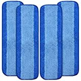 Best Bona Spray Mops - KEEPOW Microfiber Cleaning Pads Compatible with Bona Hardwood Review