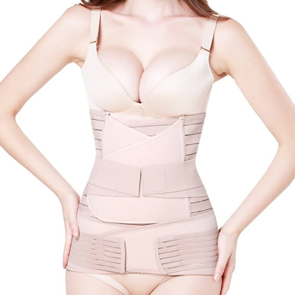 Pu-ai 3 in 1 Postpartum Recommendation Support Recovery Wrap Belly Pelvis Popular Waist