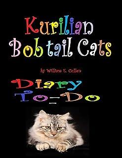 Kurilian Bobtail Cat: Diary To-Do 2019