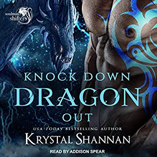 Knock Down Dragon Out audiobook cover art