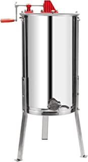 VINGLI Upgraded 2 Frame Honey Extractor Separator,Food Grade Stainless Steel Honeycomb..
