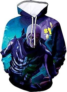Youth 3D Printed Hooide Battle Royale Floss Sweatshirt with Pocket for Ninja Boys