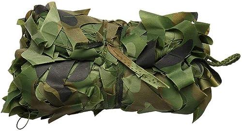 ZLZMC Filet De Camouflage dans La Jungle Utilisé pour Cacher Le Parasol Tirant sur La Prougeection du Camping en Plein Air dans Les Bois, HalFaibleeen, Multi-Taille