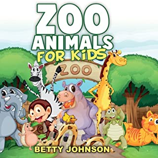 Zoo Animals for Kids: Amazing Pictures and Fun Fact Children Book cover art