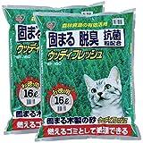 アイリスオーヤマ 猫砂 ウッディフレッシュ 16L×2袋 (まとめ買い)