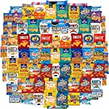 Variety Fun Care Package (100 Count) - Ultimate Snacks Sampler - Bulk Cookies, Chips, Crackers, Candy, Mixed Bars Variety Pack - Friends & Family, Military, College Food Box