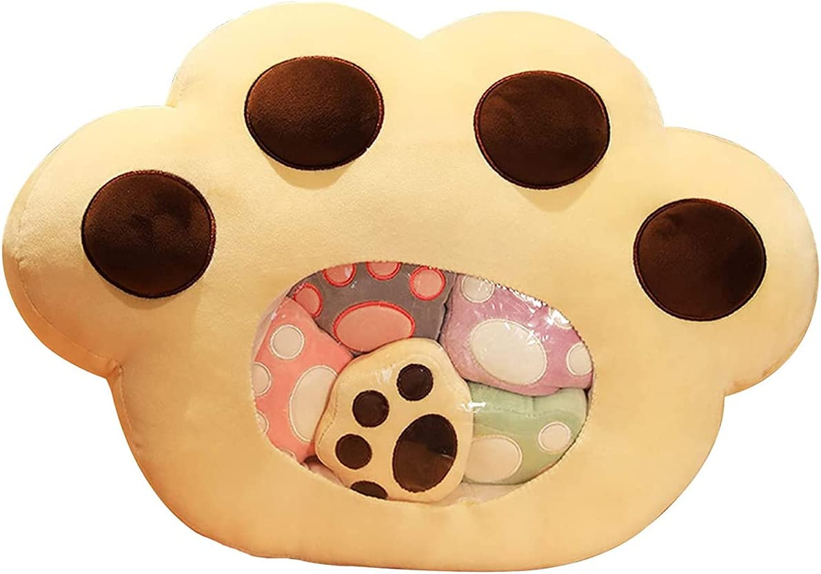 20in Cat Pillow Cute Cartoon Paw Soft High quality new Toy Large special price Animal Plush Plu