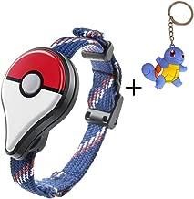 Aurora Originals Bluetooth Pokemon GO Wristband Bracelet Watch Game Interactive Toys for Nintendo Pokemon Go Plus Bluetooth Wristband Bracelet Interactive Watch Game + Poke Figure Toy Keychain