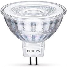 Philips LED Bulb with Daylight Sensor, Plastic, Silber, GU5.3, 5 wattsW
