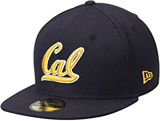 New Era 59Fifty Hat California Golden Bears University California Berkeley Cap