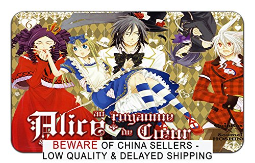 Heart No Kuni No Alice Anime Stylish Playmat Mousepad (24 x 14) Inches [PM] Heart No Kuni - 10