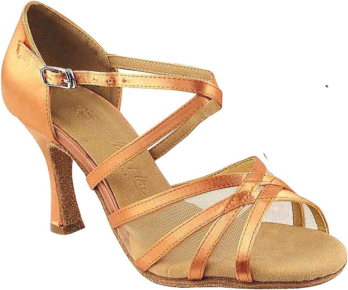 Women's Ballroom Dance Shoes Tango Wedding Salsa Shoes Sera1605EB Comfortable-Very Fine 2.5
