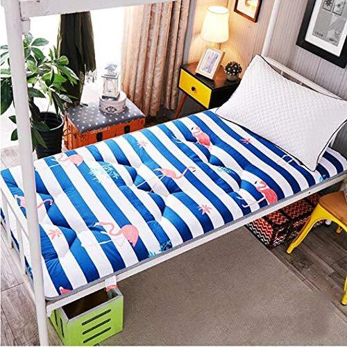 Non Slip Tatami matras, comfortabel stapelbed, stapelbed, slaapzaal met 1 tweepersoonsbed (11 stijlen, optioneel) 150 * 200cm 06