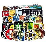 Paquete de Pegatinas 100 Piezas Marca Tide Personalidad Graffiti Guitarra Skateboard Trolley Funda Motocicleta Decorativa Etiqueta Impermeable